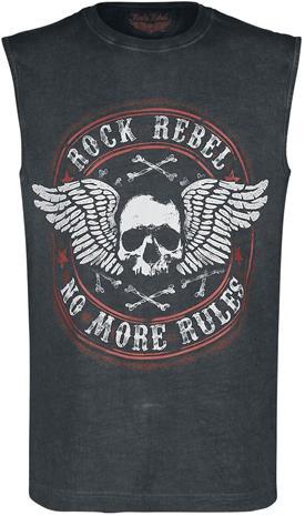 Rock Rebel by EMP - Tiger In My Tank - Tank-toppi - Miehet - Harmaa