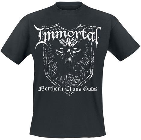 Immortal - - T-paita - Miehet - Musta