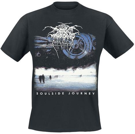 Darkthrone - Soulside Journey - T-paita - Miehet - Musta