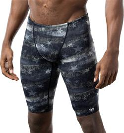 TYR American Dream All Over Jammers Men, black/grey