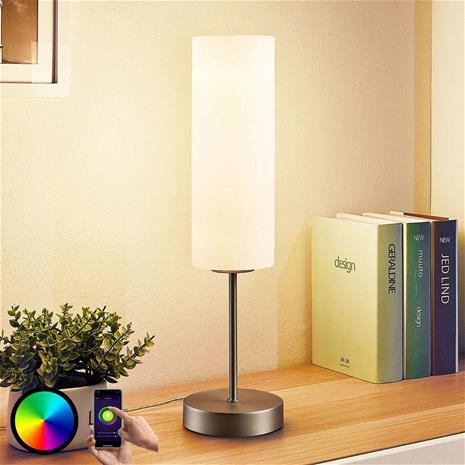 Lindby Lindby Smart LED-pöytävalaisin Felice, RGB-tila