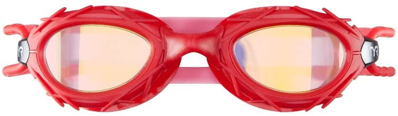 TYR Nest Pro Goggles Mirrored, red/gold