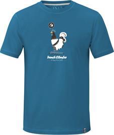 ABK Chicken Tee Men, frenchy blue