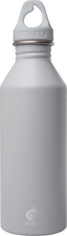 MIZU M5 Juomapullo Vaalean harmaa Silmukkakorkilla 500ml, enduro light grey