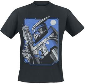 Mass Effect - Garrus Vakarian - T-paita - Miehet - Musta
