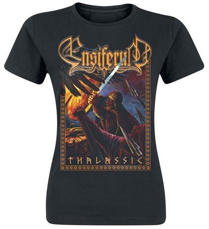 Ensiferum - Thalassic - T-paita - Naiset - Musta