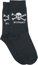 FC St. Pauli - FC St. Pauli - Skull - Sukat - Unisex - Musta