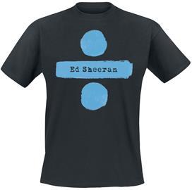 Ed Sheeran - Divide Logo - T-paita - Miehet - Musta