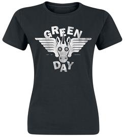 Green Day - Easy Bay Biker - T-paita - Naiset - Musta