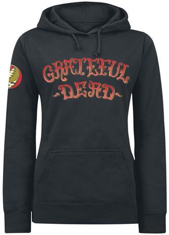 Grateful Dead - Skeleton - Huppari - Naiset - Musta