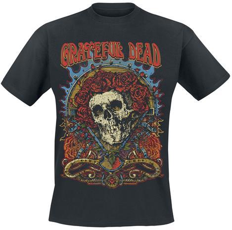 Grateful Dead - Dead Rose - T-paita - Miehet - Musta