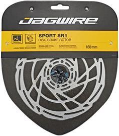 Jagwire Sport SR1 Jarrulevy 6-reikäinen, silver