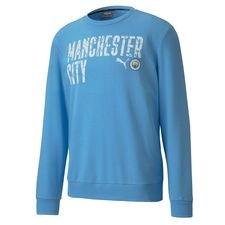 Manchester City Collegepaita FtblCore Wording - Sininen/Navy