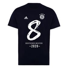 Bayern Mä¼nchen Champions T-paita 2020 - Musta