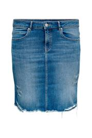 Only Carmakoma Farkkuhame carVera Lifeknee Denim Skirt