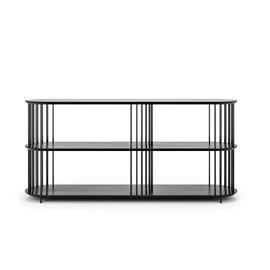 Decotique Decotique-Cage 140 3 High Shelf, Black Oak / Black