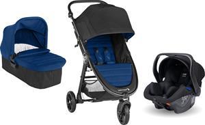 Baby Jogger City Mini GT 2 Lastenrattaat sisält. Turvakaukalo, Adapteri & Vaunukoppa, Winsor