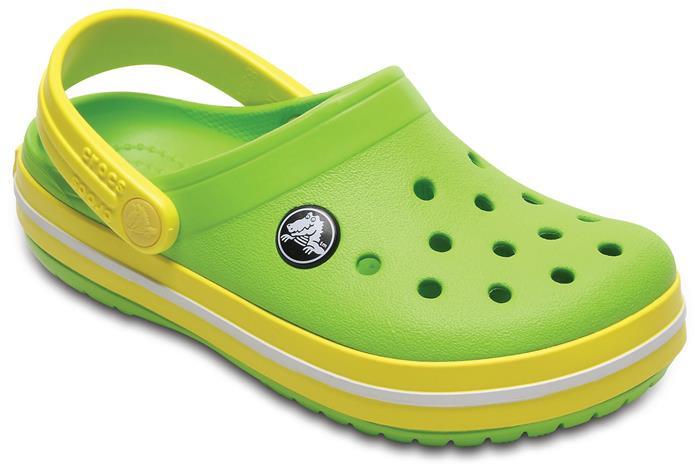 Crocs Crocband Clog, Lemon, 29-30