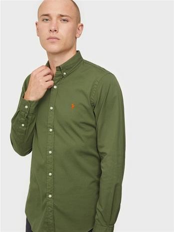 Polo Ralph Lauren Long Sleeve Sport Shirt Kauluspaidat Jungle