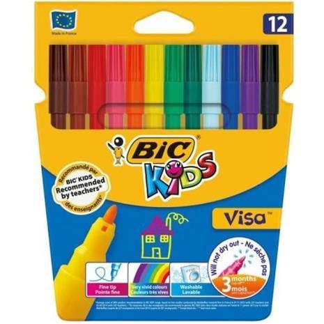 BIC Kids Visa 12 värityshuopakynät