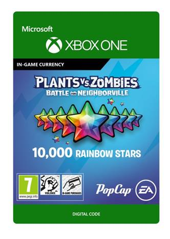 Plants vs. Zombies: Battle for Neighborville - 10 000 Rainbow Stars, Xbox One -peli