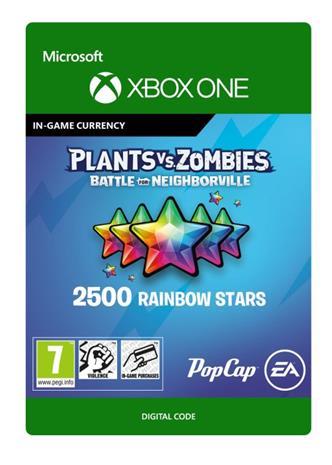 Plants vs. Zombies: Battle for Neighborville - 2500 Rainbow Stars, Xbox One -peli