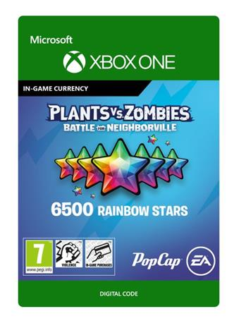 Plants vs. Zombies: Battle for Neighborville - 6500 Rainbow Stars, Xbox One -peli