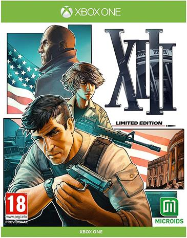 XIII Remastered Limited Edition, Xbox One -peli