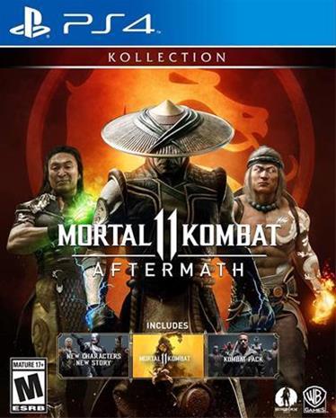 Mortal Kombat 11 Aftermath Kollection, PS4 -peli