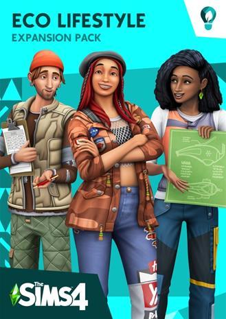 The Sims 4 - Ekoelämää (Eco Lifestyle), PC-peli