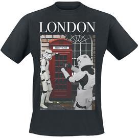 Original Stormtrooper - London - T-paita - Miehet - Musta