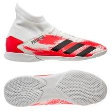 adidas Predator 20.3 IN Uniforia - Valkoinen/Musta/Punainen Lapset
