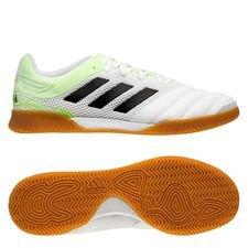 adidas Copa 20.3 Sala IN Uniforia - Valkoinen/Musta/Vihreä