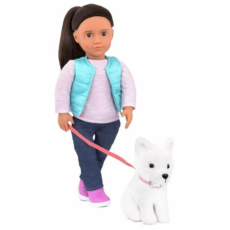 Our Generation - Cassie Doll and Pet Samoyed (731243)