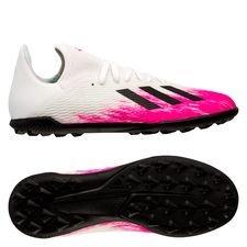 adidas X 19.3 TF Uniforia - Valkoinen/Musta/Pinkki Lapset