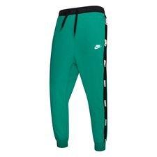 Nike Treenihousut NSW - Vihreä/Musta/Valkoinen