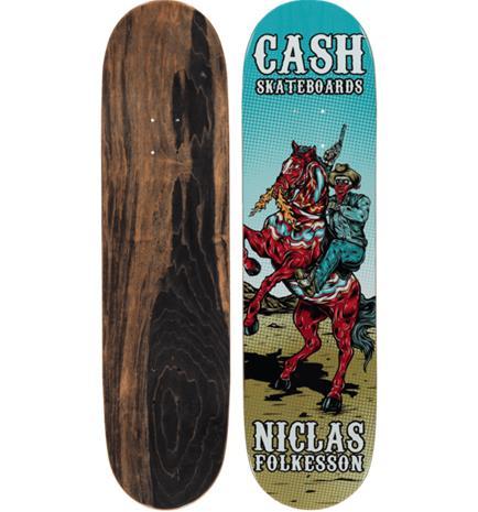 Cash Skateboards NIKLAS F PRO 8.375 DALAHORSE