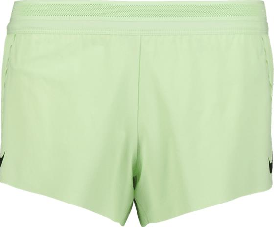 Nike W NK AEROSWIFT SHORT VAPOR GREEN/BLACK
