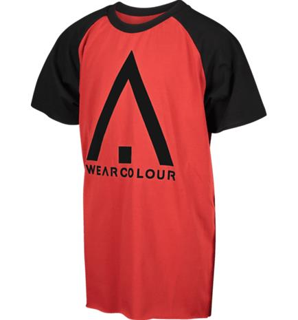 Wearcolour J RAG TEE FALU RED