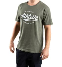 Soc M GRAPHIC TEE GREEN/ATHLETIC