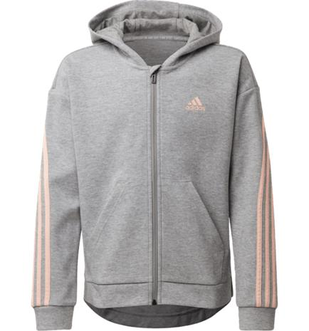 Adidas G 3S FZ HOOD MEDIUM GREY HEATHE
