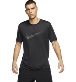 Nike M NK DRY LEG TEE SWOOSH CAMO BLACK/BLACK