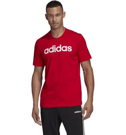 Adidas M E LIN TEE SCARLE/WHITE