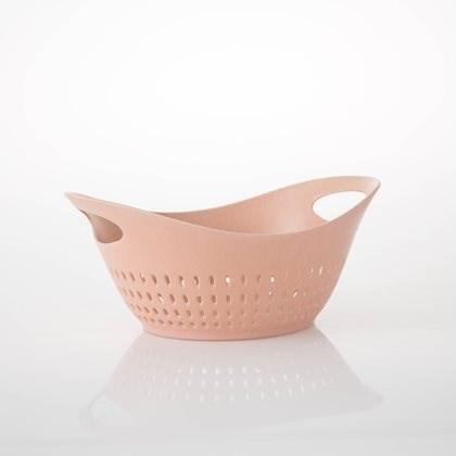 Bahne & Co Siivilä bambumelamiini vaaleanpunainen 27x22 cm
