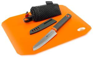 GSI Santoku Cut+Prep Cutting Board Knife Set