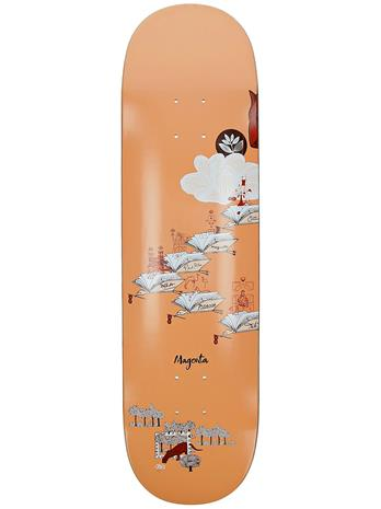 "Magenta Infinite Loop 8.25"""" Skateboard Deck bird clan"
