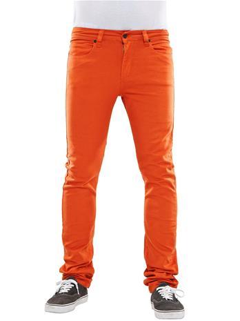 REELL Skin Stretch Jeans burnt orange Miehet