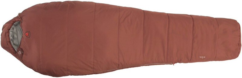 Robens Spire III Sleeping Bag, red