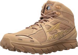 Altra Lone Peak 3.5 Mid Running Shoes Men, mesh sand