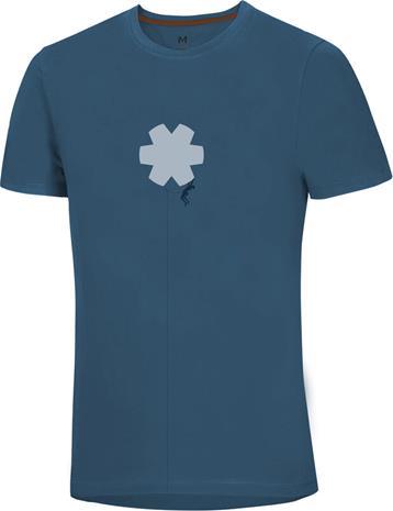 Ocun Classic T-Shirt Men, blossom climber copan blue